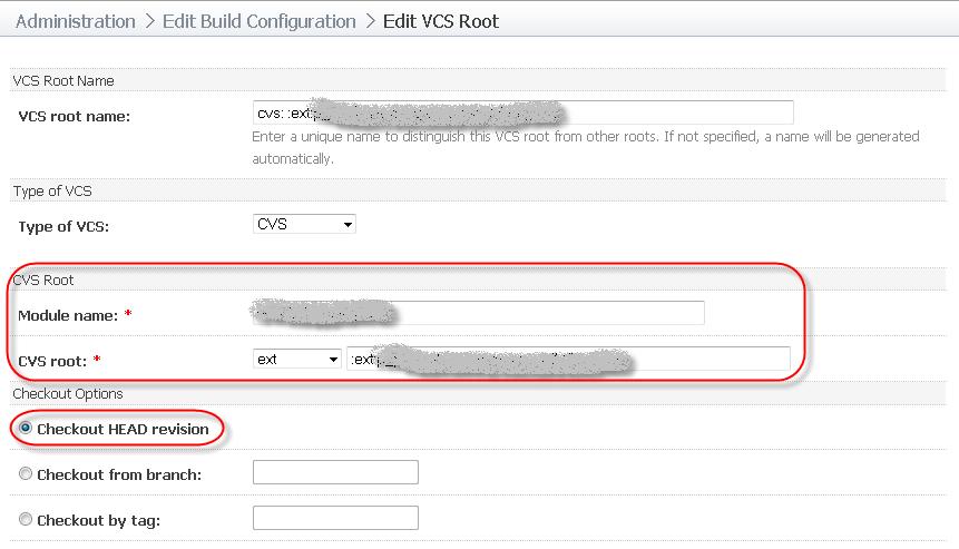 VCS Root