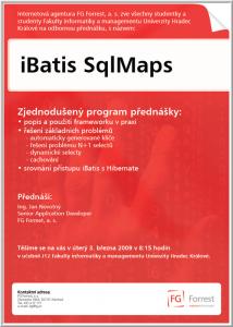 Pozvánka UHK - iBatis SqlMaps